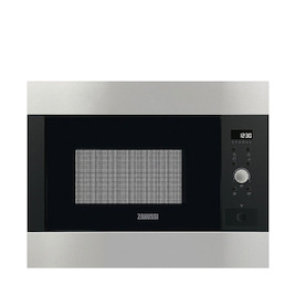 Zanussi ZBG26642XA Stainless steel Built in classic 600mm microwave oven with grill Reviews