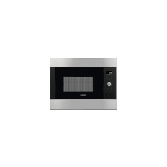 Zanussi ZBM26642XA Stainless steel Built in classic 600mm microwave oven