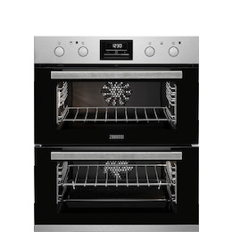 Zanussi ZOF35802XK Electric Built-under Double Oven - Stainless Steel Reviews