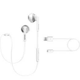 Philips SHB525OWT Wireless Bluetooth Headphones - White Reviews