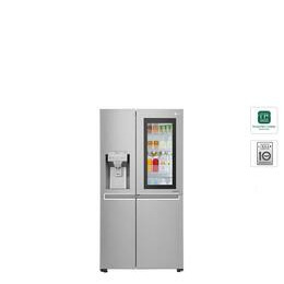 LG Instaview GSX961NSAZ American-Style Fridge Freezer - Shine Steel Reviews