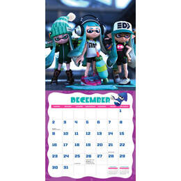 Splatoon Calendar 2018 Reviews