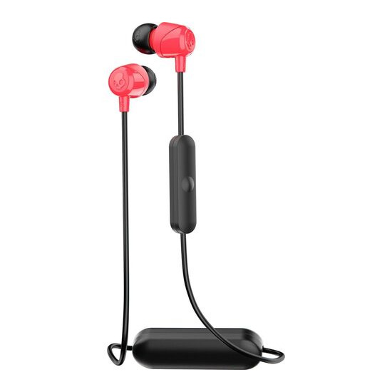 Skull Candy Jib Wireless Bluetooth Headphones - Black & Red