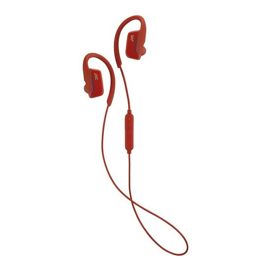 JVC HA-EC30BT-RE Wireless Bluetooth Headphones - Red