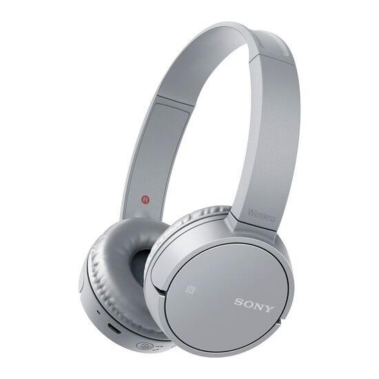 SONY MDR-ZX220BTH Wireless Bluetooth Headphones - Silver