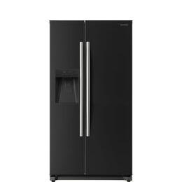 DAEWOO DRQ29NPEB American-Style Fridge Freezer - Black Reviews