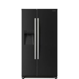 DAEWOO DRQ29NPEB American-Style Fridge Freezer - Black Reviews