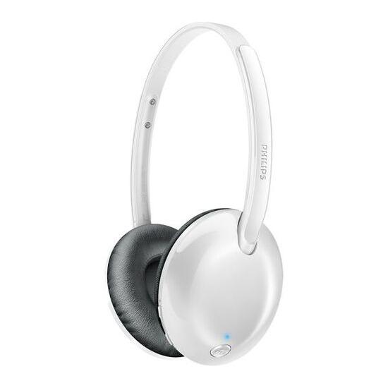Philips Flite Ultrlite Wireless On-Ear headphones - White
