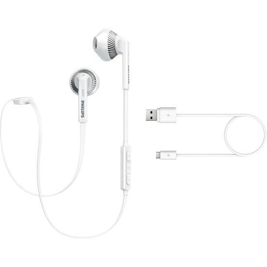 Philips MyJam FreshTones Bluetooth In-Earphones - White