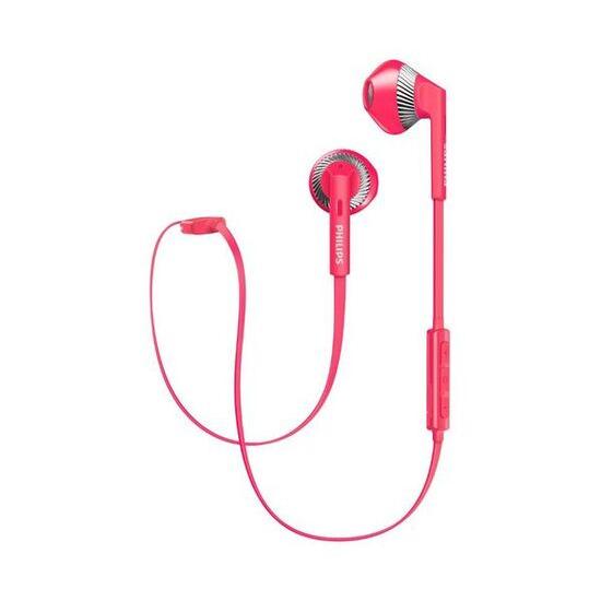 Philips MyJam Wireless Freshtones Bluetooth In-Ear Headphones - Pink