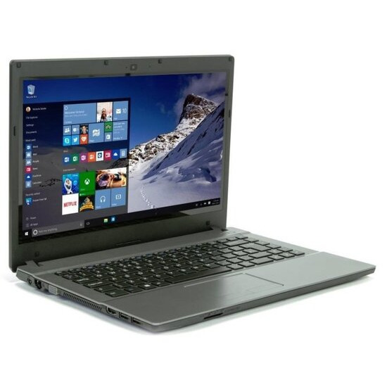 Zoostorm Laptop Intel Celeron 1037U 1.8GHz 4GB RAM 64GB SSD 14 Touchscreen DVDRW Intel HD WIFI Windows 10 Home