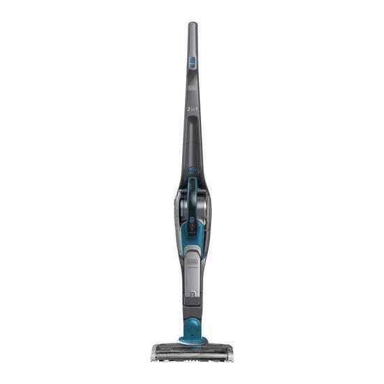 Black & Decker SVJ520BFS-GB Cordless Vacuum Cleaner - Titanium & Deep Blue Ocean