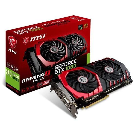 MSI GeForce GTX 1080 8GB GAMING X PLUS GDDR5 Graphics Card