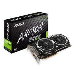 MSI NVIDIA GeForce GTX 1060 6GB ARMOR OC Graphics Card Reviews