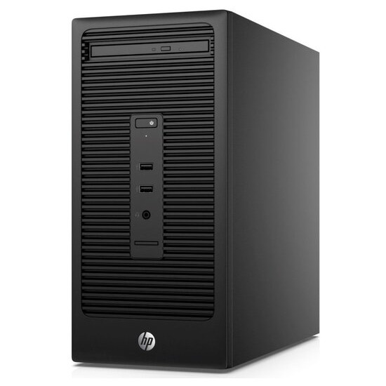 HP 280 G2 MT Desktop Intel Core i5-6500 3.2GHz 8GB DDR4 1TB HDD DVDRW Intel HD Windows 10 Pro 64bit with HP V243 24-inch Monitor