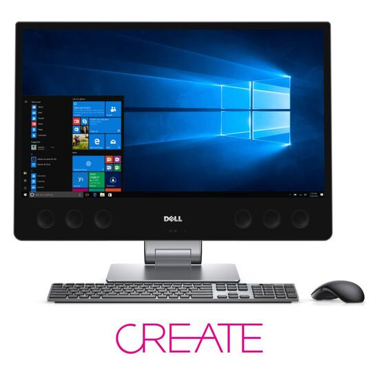 """Dell Inspiron 7775 27"""" 4K All-in-One PC - Grey"""