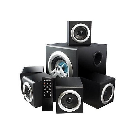 Sumvision VCube 5.1 Home Cinema Speaker System
