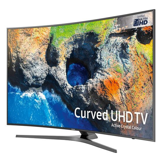 SAMSUNG UE55MU6670 55 Smart 4K Ultra HD HDR Curved LED TV