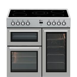 FLAVEL MLN9CRS 90 cm Electric Range Cooker - Silver Reviews