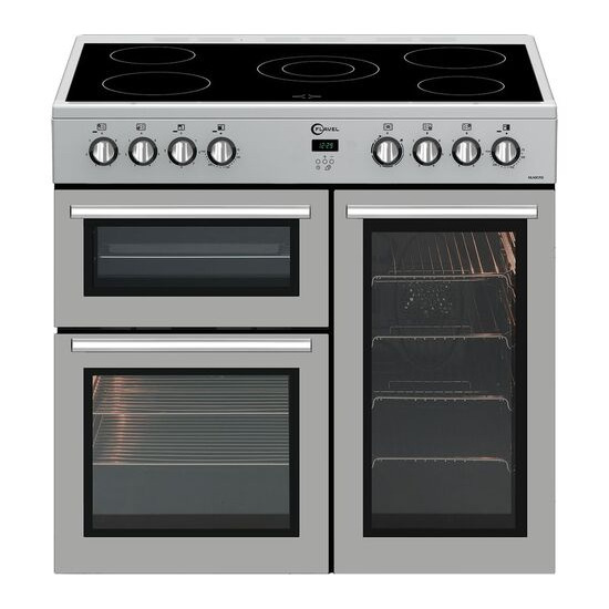 FLAVEL MLN9CRS 90 cm Electric Range Cooker