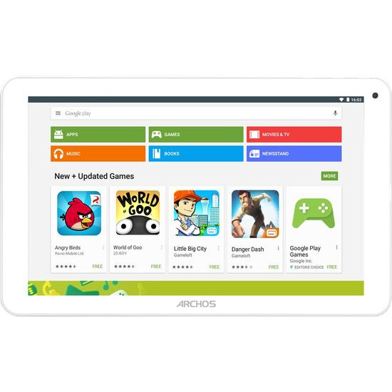 ARCHOS 101e Neon 10.1 Tablet - 16 GB, White & Grey