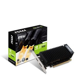 MSI GeForce GT 1030 2GH LP OC Silent Fanless Graphics Card Reviews
