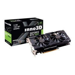 INNO3D NVIDIA GeForce GTX 1060 3GB Twin X2 Graphics Card Reviews