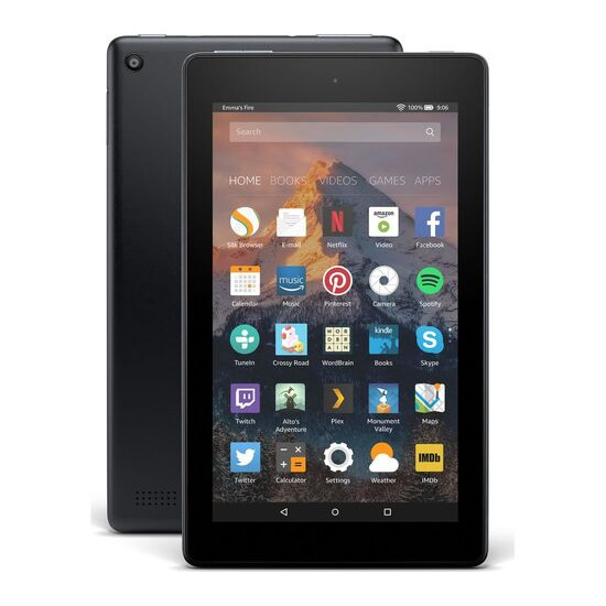 AMAZON Fire 7 Tablet with Alexa (2017) - 16 GB, Black