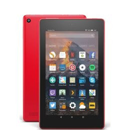 AMAZON Fire 7 Tablet with Alexa (2017) - 16 GB, Punch Red Reviews