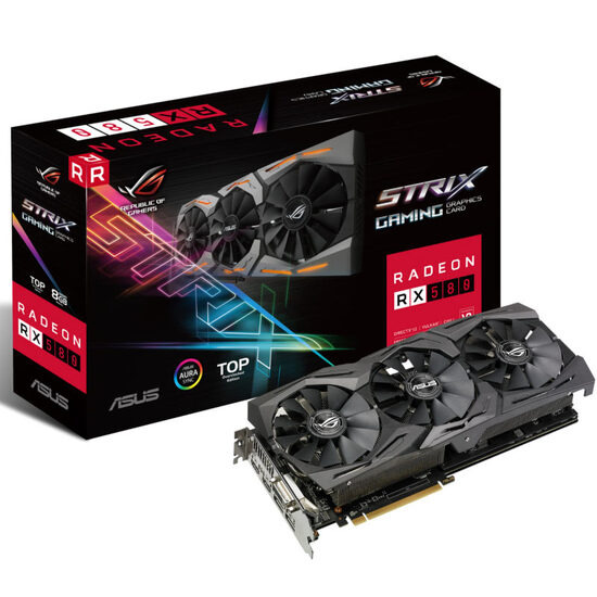 Asus ROG Strix Radeon RX 580 TOP Edition 8GB