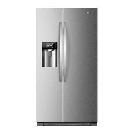 Haier HRF-630IM7 American-Style Fridge Freezer - Stainless Steel