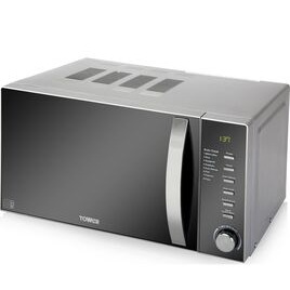 TOWER T24007 Solo Microwave - Grey Reviews