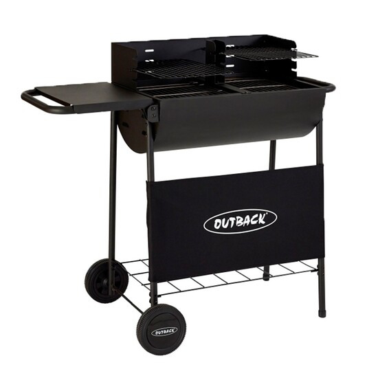Outback Half Drum Charcoal BBQ