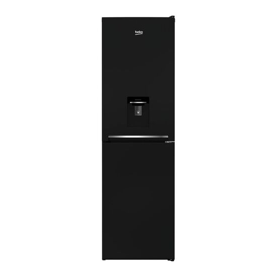 Beko CSG1582DB 50/50 Fridge Freezer - Black