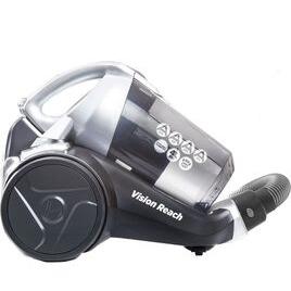 Hoover BF81VS02 Vision Reach Cylinder Bagless Vacuum Cleaner - Titanium Reviews