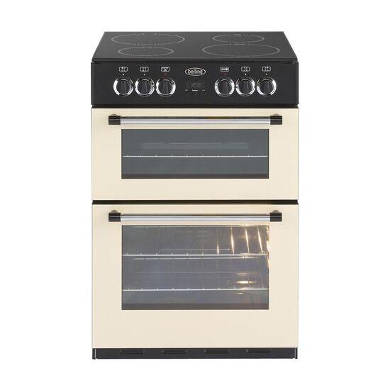 BELLING Classic 60E 60 cm Electric Ceramic Cooker - Cream & Black