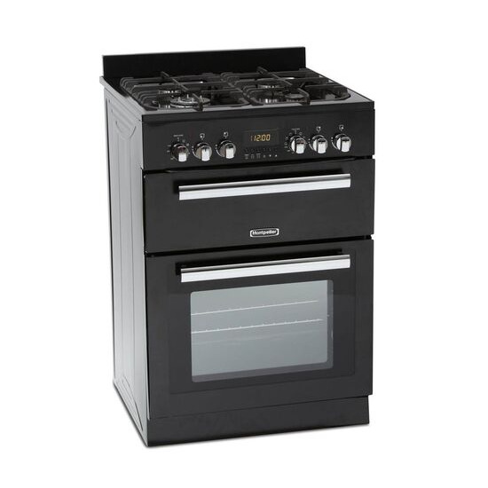 Montpellier RMC60DFK 60 cm Dual Fuel Cooker Stainless Steel