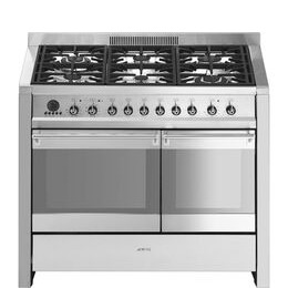 SMEG Opera 100 cm Dual Fuel Range Cooker Stainless Steel Reviews