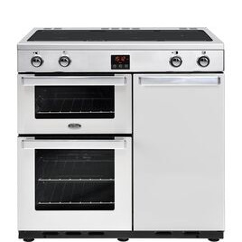 Belling Gourmet 90Ei Professional Electric Induction Range Cooker Stainless Steel Reviews