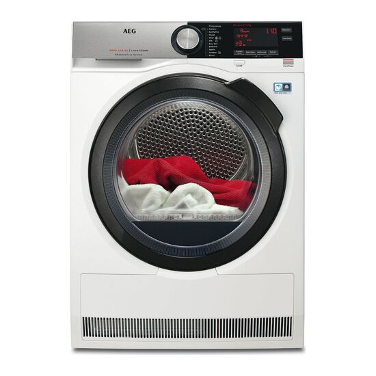 AEG AbsoluteCare T8DSC869C Heat Pump Tumble Dryer