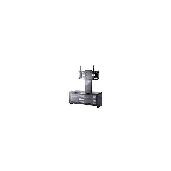 Alphason APP1000-BR Black TV Cabinet With Integral TV Bracket
