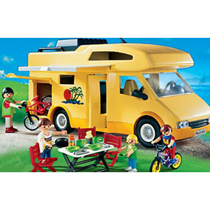 Photo of Playmobil Family Camper Toy