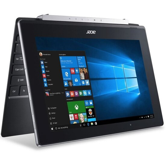 ACER Switch V 10 (SW5-017) 2-in-1 Laptop Intel Atom x5-Z8350 1.4GHz 2GB RAM 64GB Flash 10.1 Touch No-DVD Intel HD WIFI Webcam Bluetooth Windows 10 Home