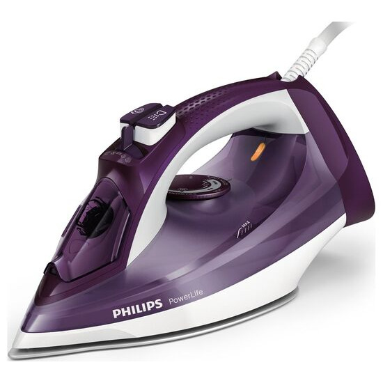 Philips PowerLife GC2995/37 Steam Iron - Purple & White