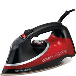 Morphy Richards Comfigrip 303118 Steam Iron - Black & Red Reviews