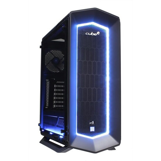 Cube Viper VR Ready Gaming PC Core i7K Quad Core Add your own Asus Graphics Card