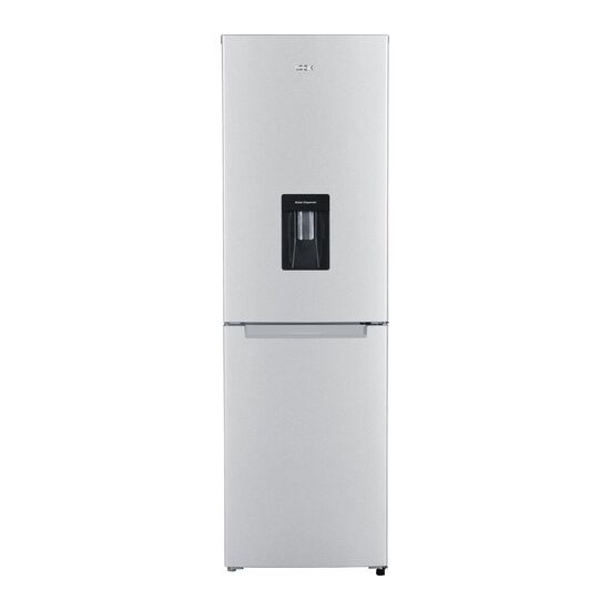 LOGIK LFFD55S17 50/50 Fridge Freezer - Silver