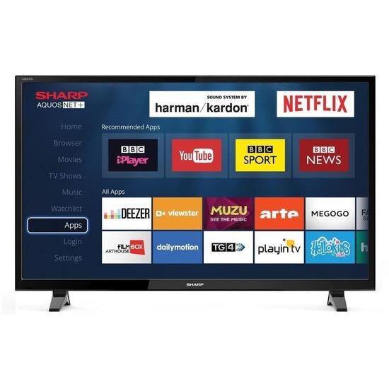 Sharp LC-49CFF6001K 49 Inch Full HD 1080p Smart LED TV