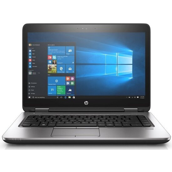 HP ProBook 640 G3 Laptop Intel Core i5-7200U 2.5GHz 4GB DDR4 128GB SSD 14 FHD DVDRW Intel HD WIFI Webcam Bluetooth Windows 10 Pro