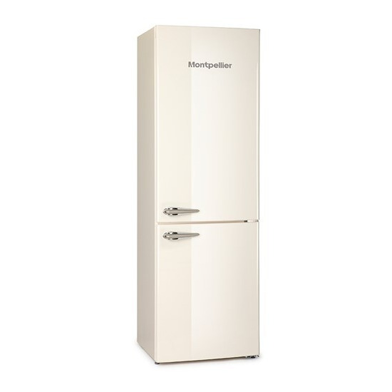 Montpellier MAB365C/K/R Retro Fridge Freezer